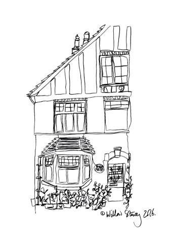 2016, Digitally edited drawing